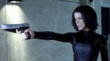 Kate Beckinsale in the film Underworld: Awakening