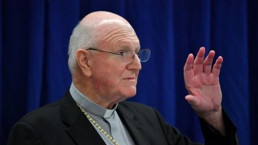 Australian Catholic Bishops Conference president Archbishop Denis Hart says the church will learn from its mistakes.