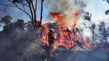 Castlereagh on Thursday: Another early fire season is expected.