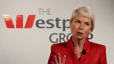 Westpac chief executive Gail Kelly.