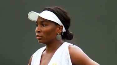Made headlines for her outfit ... Venus Williams.