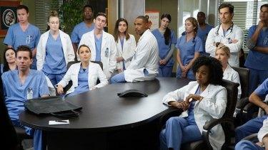 <i>Grey's Anatomy</i>.