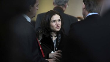 Facebook's Sheryl Sandberg.