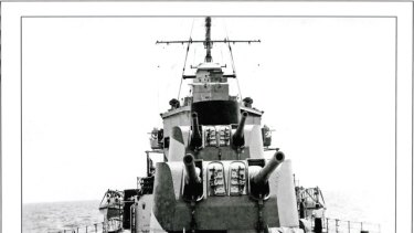 HMAS Perth saw action in many theatres of World War II.