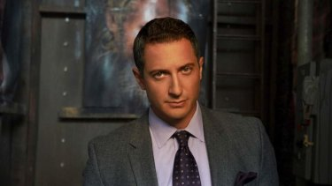 Brutal job ... Sasha Roiz is surprised by the level of violence in <i>Grimm</i>.