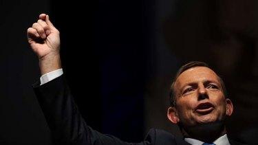 Neighbour issues ... Tony Abbott.