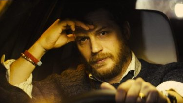 Drive: Tom Hardy gives an extraordinarily delicate performance in <i>Locke.</i>