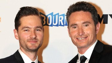 Odd but appealing: Charlie Pickering and Dave Hughes of <i>The Project</i>.