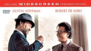 Wag The Dog starred Robert De Niro and Dustin Hoffman.