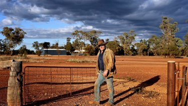 """Cobar Grazier Robert Chambers welcomes the income """"carbon farming'' brings."""