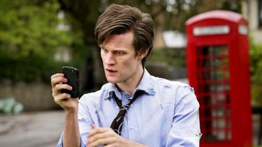 Catch-up favourite ... Matt Smith as Doctor Who.