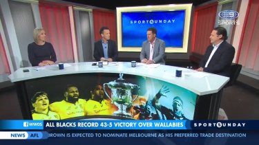 Concerns for Rugby in Australia after the Wallabies were thrashed at the hands of the All Blacks.