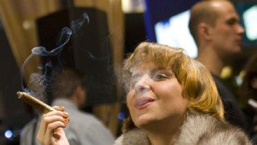 Havana social club ... exclusive cigar bars evade smoking bans.