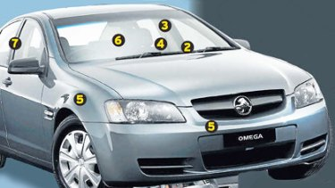 Details of vehicle safety innovations below