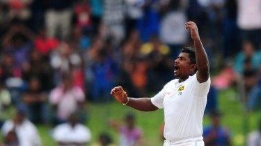 Rangana Herath takes four more as Sri Lanka edges towards victory