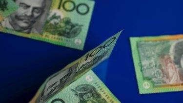 The Australian dollar softened on Thursday.