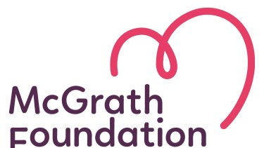 New McGrath Foundation logo