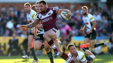 Anthony Watmough may have played his last game at Brookvale Oval for Manly.
