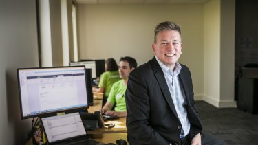 SelfWealth founder Andrew Ward is targeting 100,000 online trading accounts within a year.