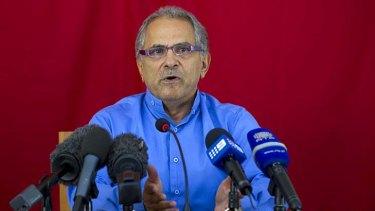 Dr Jose Ramos-Horta announces his resignation.