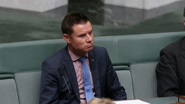 Liberal MP Andrew Laming is named by Speaker Bronwyn Bishop ahead of question time on Wednesday.