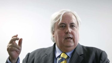 """Clive Palmer ... """"Clive's style works in China because he's visionary,  bright and larger-than-life."""""""