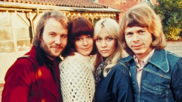 ABBA took first place in Eurovision for Sweden in 1974 with Waterloo and went on to become the song contest's most successful group.