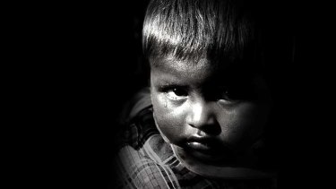 Child poverty ... a desperate issue.