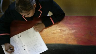 Up to 20 per cent of Koori students fail NAPLAN tests.