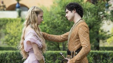 Betrothed ... Myrcella Baratheon and Trystane Martell.