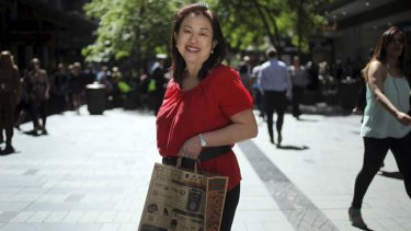 Making a difference: Hilda Sen has big plans for the EcoBag.