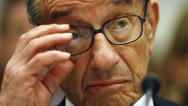 Alan Greenspan, former chairman of the US Federal Reserve.