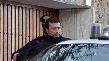 Costa Concordia captain Francesco Schettino.