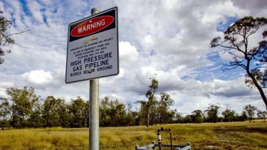 Not so clean ... fugitive emissions could make coal seam gas as dirty a fuel as black coal, report says.