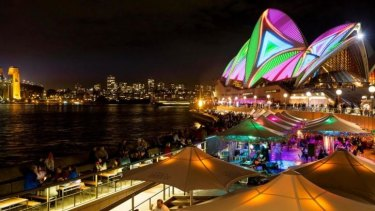 Vivid Sydney Festival: Pretty but frustrating.