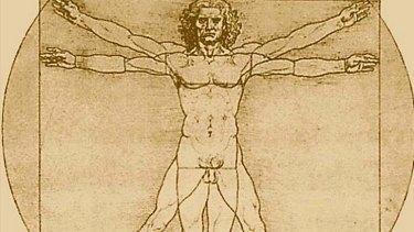 Logic and creativity ... Leonardo Da Vinci's Vitruvian Man.