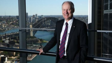 Push for change: Richard Goyder wants trade barriers removed.