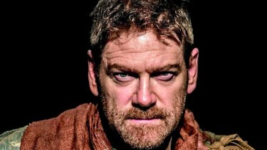Kenneth Branagh as <i>Macbeth</i>.