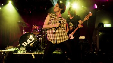 Iconic venue ... the Baby Animals, fronted by Suze DeMarchi, play the Annandale Hotel last year.