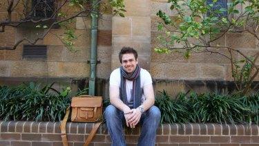 Military Philosophy student Matt Beard who studies at Notre Dame