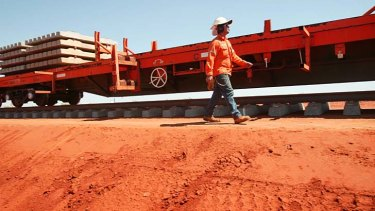 Onward and upward: Rio Tinto, Fortescue and BHP are poised to unveil increased iron ore production.