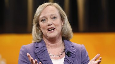 HP CEO Meg Whitman: Working from home discouraged.
