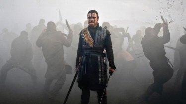 Michael Fassbender in Justin Kurzel's <i>Macbeth</i>.