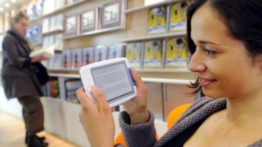 E-readers allow people to read erotic novels without worrying about who's watching.