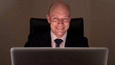 Security expert Chris Gatford of HackLabs.