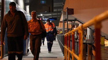 Family pains ... fly in and fly out workers (FIFO's) don't last more than a year in their jobs, a parliamentary inquiry was told last year.