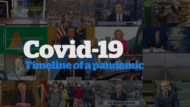 Watch 3 months of Covid-19 media coverage in 3 minutes.