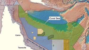 The Environment Minister has announced a new marine reserve off the Queensland coast.