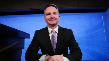 "Opposition treasurer Chris Bowen say Labor is ""taking a very responsible approach"" with its policies."