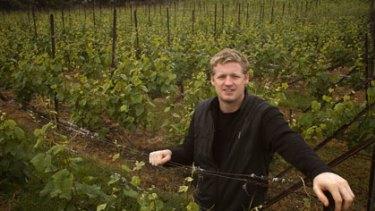 Quality focus ... winemaker Conor van der Reest at Moorilla Estate.